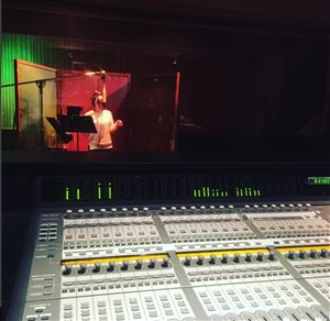 Vocal Producing at Fantasy Studios